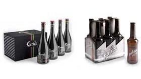 Dos cervezas artesanas con aire de vino de La Rioja: Ceriux y Palax