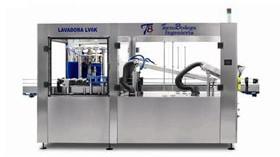 Lavadora y secadora de botellas LV6 K