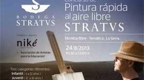 Concurso de pintura rápida al aire libre de Bodegas Stratvs