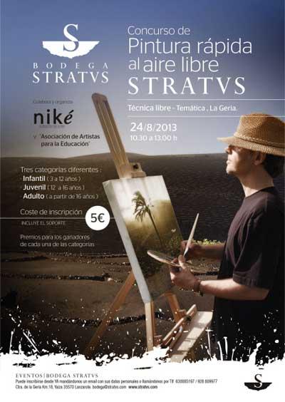 Tecnovino Bodegas Stratvs concurso pintura