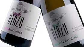 Otazu Chardonnay y Otazu Rosado visten nuevas etiquetas diseñadas por una firma de joyas
