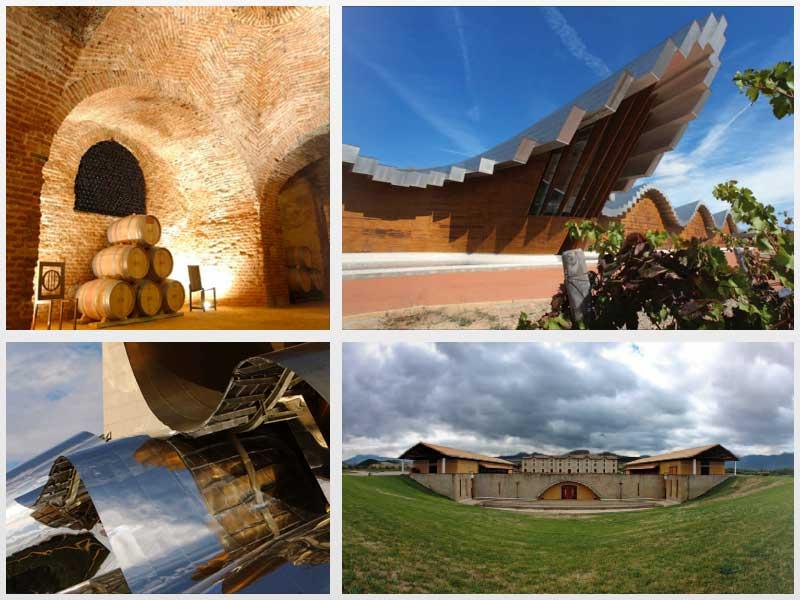 Tecnovino libro Rutas del vino bodegas de España fotos
