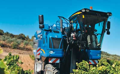 Tecnovino vendimiadora Braud New Holland
