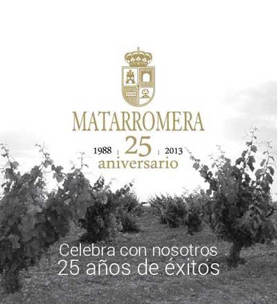 Tecnovino Grupo Matarromera 25 aniversario acto