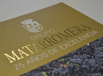 Tecnovino Grupo Matarromera libro 25 aniversario
