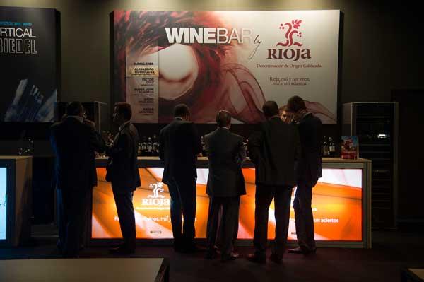 Tecnovino Millesime Wine Lounge Riedel
