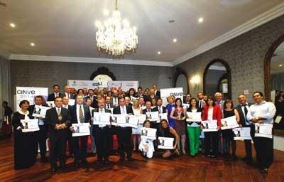 Tecnovino Premios Cinve entrega premiados