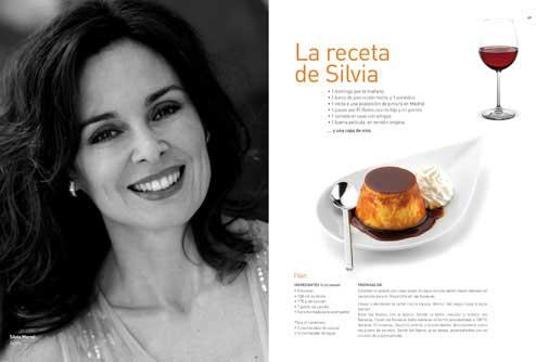 Tecnovino cincuenta recetas disfrutar vino Silvia