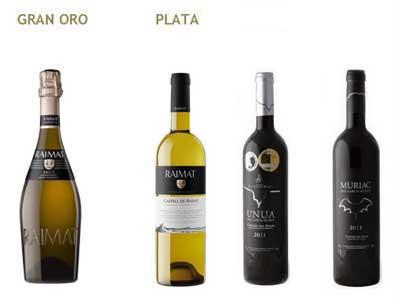 Tecnovino vinos DO Costers del Segre premiados Cinve