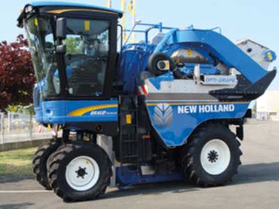 Tecnovino Opti Grape calidad de la vendimia New Holland Sitevi