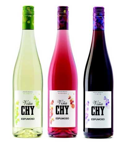 Tecnovino botellas ViñaCHY Vichy