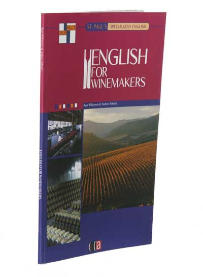 Tecnovino curso English For Wine Aspects Book English for Winemakers