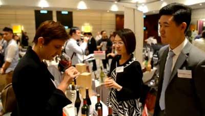 Tecnovino feria de vinos de Hong Kong
