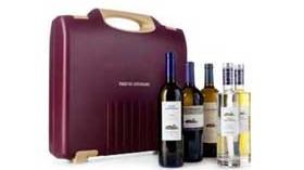 Maleta portabotellas de vino para viajar en avión