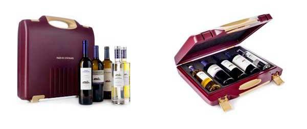 Tecnovino maleta portabotellas vino Pazo Señorans