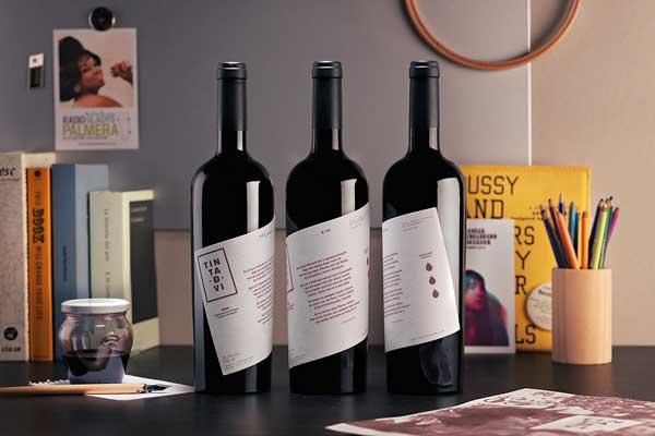 Tecnovino Ladyssenyadora Tinta de vi tinta de vino 2