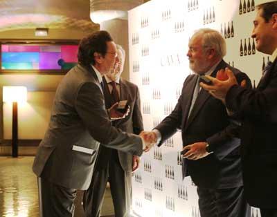Tecnovino Arias Canete comercio exterior de vino premios excelencia cava