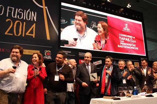 Tecnovino Concurso de Tapas Rioja Madrid Fusion