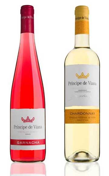 Tecnovino Principe de Viana Chardonnay y Garnacha