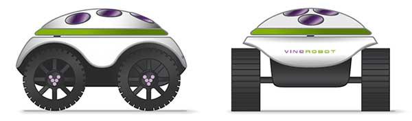 Tecnovino VineRobot robot vinedo