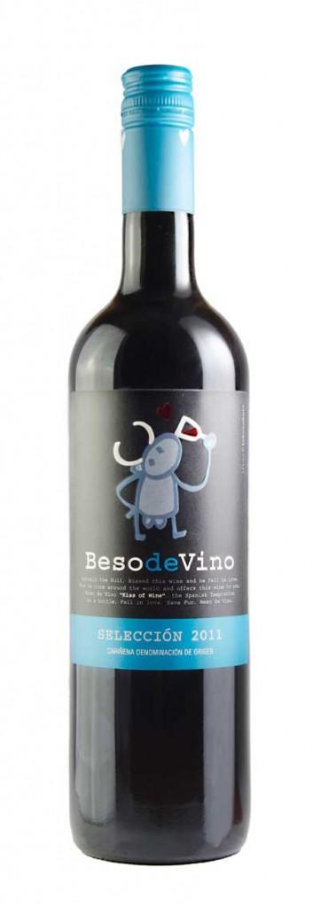 Tecnovino vino San Valentin Beso-de Vino