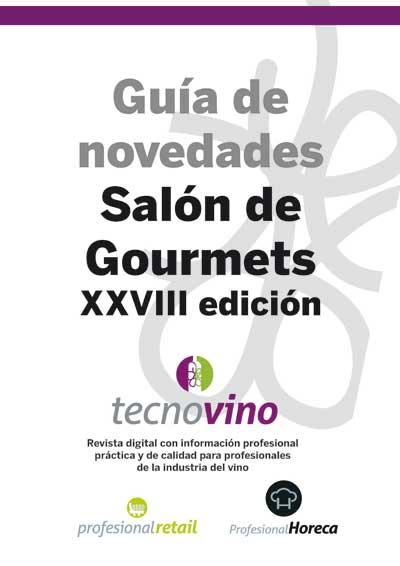 Tecnovino Guia de novedades de vino del Salon de Gourmets