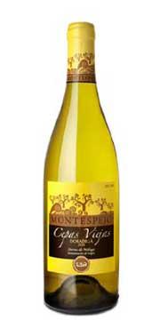 Tecnovino Montespejo Cepas Viejas cinco vinos blancos