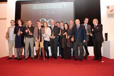 Tecnovino Premios del Salon de Gourmets 2014 vino liga 99 ganadores