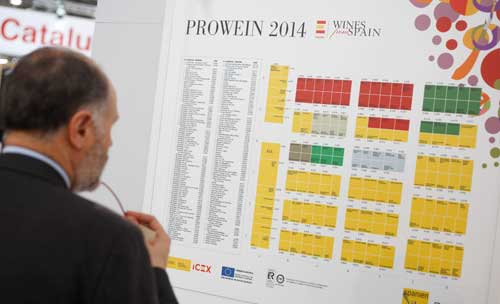 Tecnovino Prowein 2014 Wines from Spain