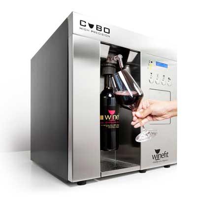 Tecnovino servicio del vino por copas winefit cubo