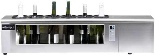Tecnovino vinoteca de barra Vitempus