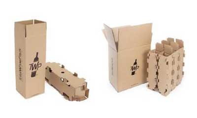 Tecnovino embalaje de seguridad para botellas de vino Totalwinepack