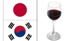 Japón importa vino a precios más elevados y en Corea del Sur crecen las importaciones en valor