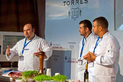 Tecnovino foro de Bodegas Torres chefs cocina canaria 2