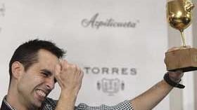 Iván Martínez, mejor sumiller de España al lograr La Nariz de Oro 2014