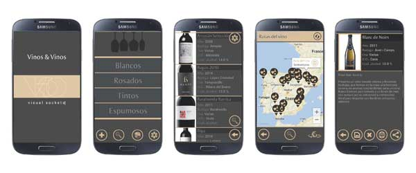 Tecnovino Vinos and Vinos app movil