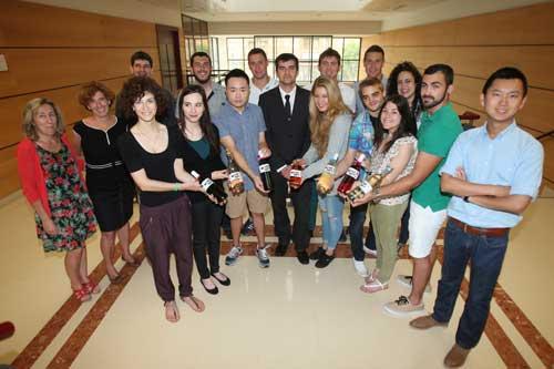 Tecnovino futuros enologos universidad de la Rioja