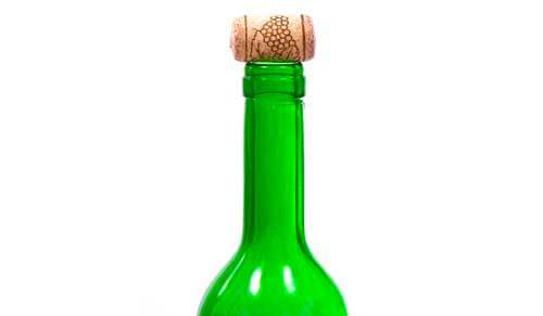 Tecnovino ley sobre el alcohol vino botella corcho