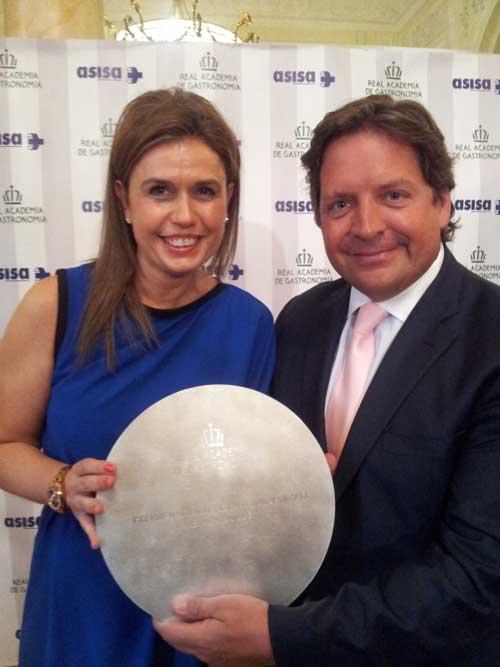 Tecnovino Premios Nacionales de Gastronomia Gemma Vela