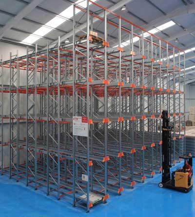 Tecnovino almacenaje automatizado para bodegas AR Racking 2
