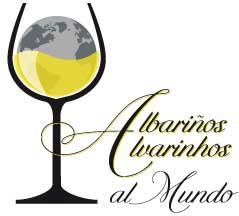 Tecnovino Albarinos al Mundo 2014 logo