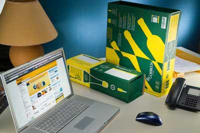 Tecnovino embalajes para enviar botellas Correos