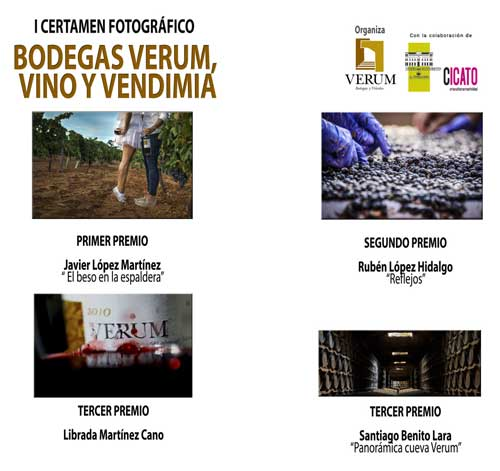 Tercnovino vendimia ganadores Bodegas Verum