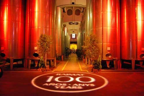 Tecnovino 100 anos de Raimat celebracion
