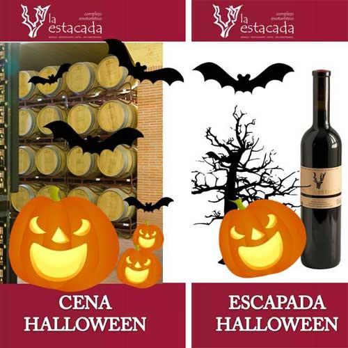 Tecnovino Halloween vino Finca La Estacada