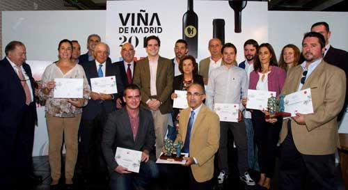 Tecnovino Premios Vina de Madrid Sarasola premiados