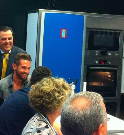 Tecnovino San Sebastian Gastronomika 2014 Top Chef