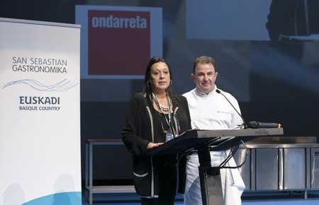 Tecnovino San Sebastian Gastronomika 2014 Torras Berasategi