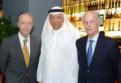 Tecnovino Vinoteca Barcelona Bahrein Bodegas Torres inauguracion 1