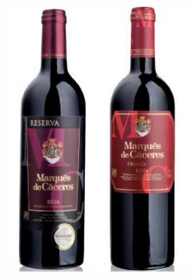 Tecnovino campana de vinos de Lidl Marques de Caceres